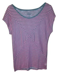 Old Navy T Shirt pink and grey