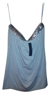 The Limited Sequin Top grey