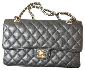 Chanel Caviar Medium Flap Shoulder Bag