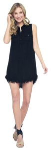 Splendid short dress black Crosshatch on Tradesy