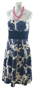 Kay Unger short dress Navy on Tradesy