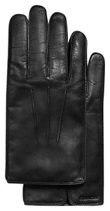 Coach Coach F85850 Mens Leather Glove black Size (M) New With Tag