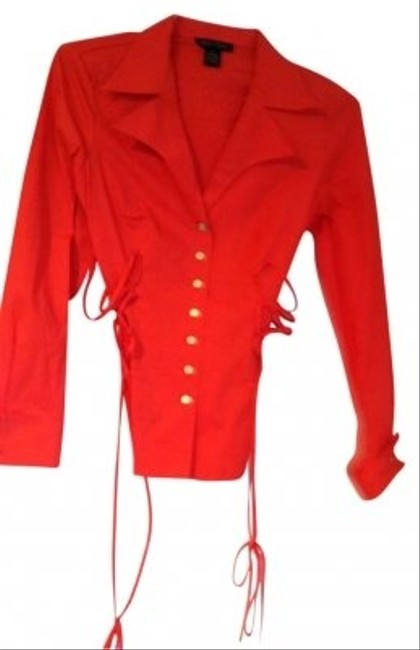 Preload https://item3.tradesy.com/images/miss-tina-tomato-red-blouse-size-6-s-169442-0-0.jpg?width=400&height=650