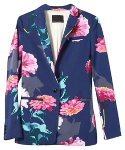 Banana Republic Floral and blue Blazer