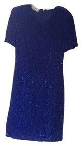 Laurence Kazar Sequin Dress