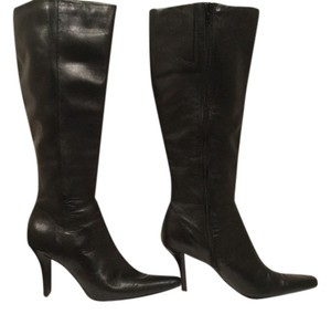 Jennifer Moore Black leather Boots