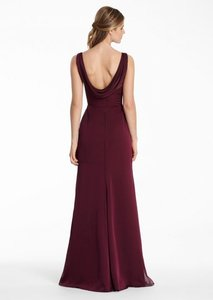 Jim Hjelm Occasions Merlot 5551 Dress