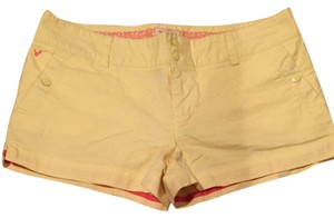 American Eagle Outfitters Shorts Yellow
