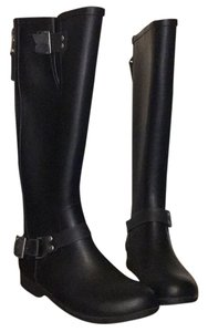 Steve Madden Black with Red Boots