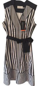 Karen Millen short dress Black & white Summer on Tradesy