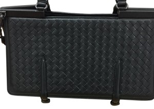 Bottega Veneta Monaco Vintage Limited Edition Satchel in black