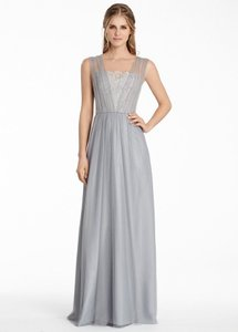 Jim Hjelm Occasions Pewter / Silver 5558 Dress