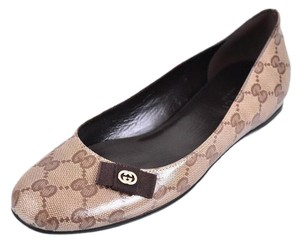 Gucci Ballerina Brown Flats
