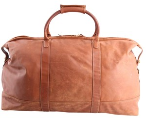 Coach Travel/duffel Large tan Travel Bag