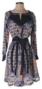 House of Harlow 1960 short dress Floral Lace Trim Print Belted on Tradesy