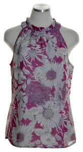 Liberty of London for Target Chiffon Sleeveless Top Pink