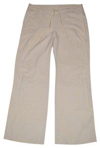 The Limited Silk Relaxed Fit Relaxed Pants beige