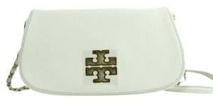 Tory Burch Crossbody Ivory Clutch