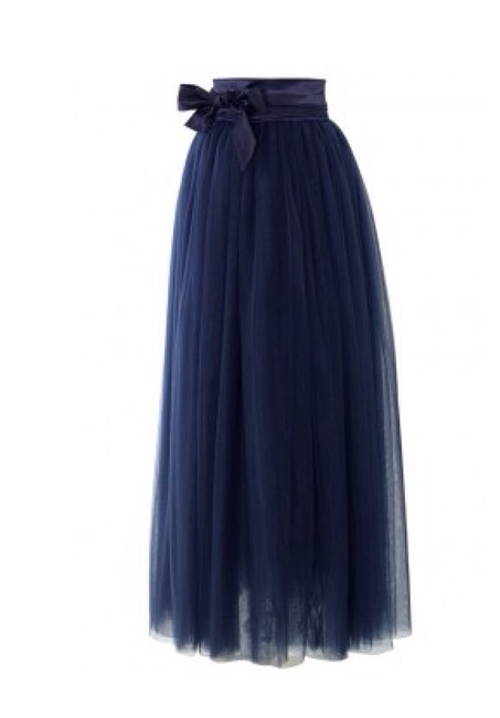 Other Nwot Tulle Tulle Long Sale M Medium Skirt Navy Blue