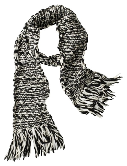 Item - Black and White H&m Scarf/Wrap