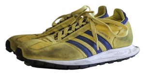 Adidas Retro Vintage Yellow, blue Athletic