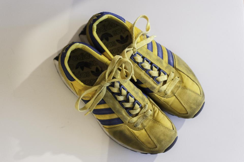 Yellow adidas Blue Yellow adidas Sneakers Sneakers rORwrdq