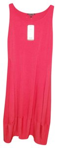 Strawberry Pink Maxi Dress by Eileen Fisher Racer-back