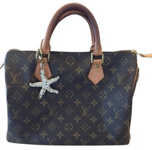 Louis Vuitton Lv Speedy Speedy 30 Satchel in Brown