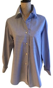The Limited Limited Size 6 Size 6 Oversized Size 6 Shirts Button Down Shirt Blue