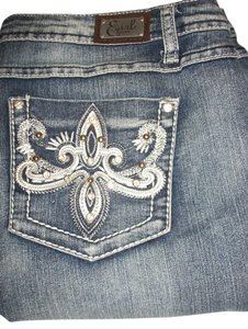 Earl Jeans Miss Me Silver Boot Cut Jeans