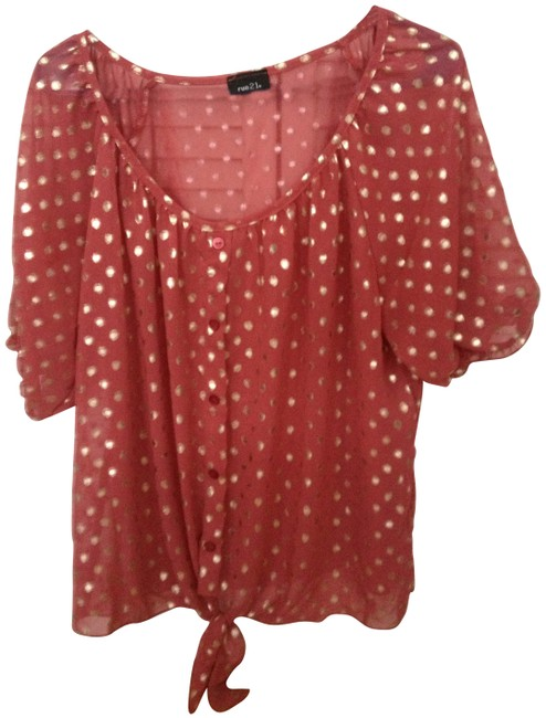 Rue 21 Top Fuschia