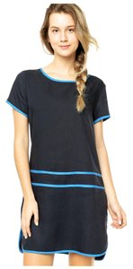 Lacoste short dress Navy / Blue on Tradesy