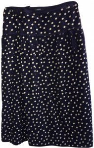 J.Crew Skirt black and white
