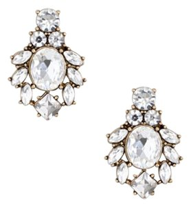 J.Crew Brand new J. Crew Crystal Earrings