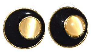 July 4th Resin Round Stud Post Back Earrings