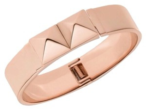 Michael Kors Michael Kors Rose Gold Pyramid Bangle