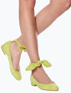 Carven Lime Green Pumps