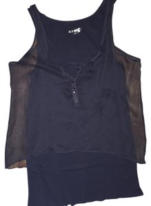 Kensie Girl Size Small Top Black