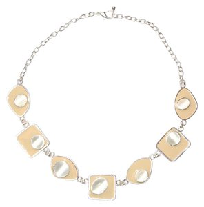 Other Stunning Resin Geometric Chain Collared Necklace