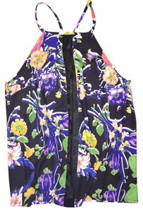 Mara Hoffman Floral Summer Size Xs New Top Multi