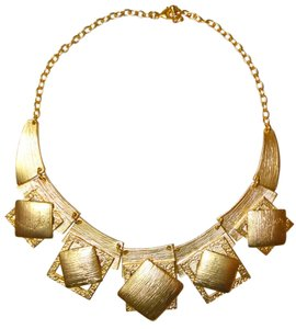 Other Xena Brushed 24kt- Gold Plated Necklace
