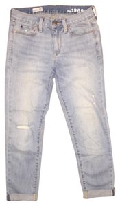 Gap Jean Distressed Boyfriend Cut Jeans