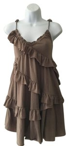 H&M short dress Brown on Tradesy