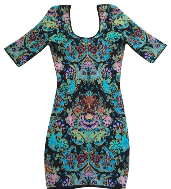 Item - Multicolor Above Knee Short Casual Dress Size 2 (XS)