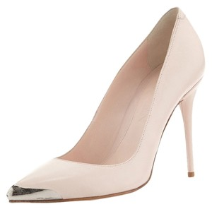 Alexander McQueen Italy 100mm Blush Pumps