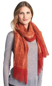 Eileen Fisher Two-Tone Wool Scarf