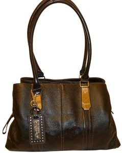 Tignanello Nwot Leather Lined Hobo Bag