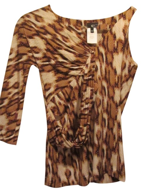Preload https://item1.tradesy.com/images/just-cavalli-multi-brown-tan-blouse-size-16-xl-plus-0x-1695120-0-0.jpg?width=400&height=650