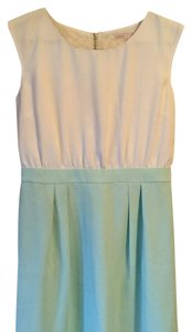 Ann Taylor LOFT short dress Off White / Mint on Tradesy