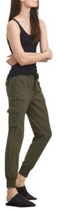 TNA Jogger Cargo Activewear Relaxed Pants Olive